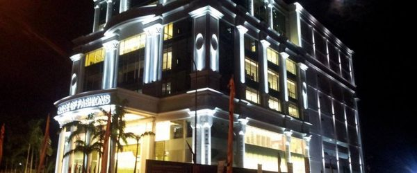 Facade Lighting System of House of Fashion Mega Mall